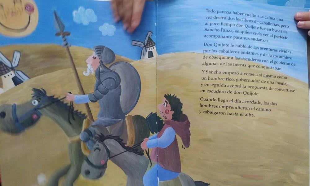 Manualidades de Don Quijote de la Mancha para niños