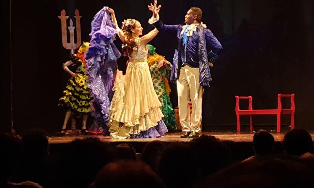 la cenicienta en versión flamenco