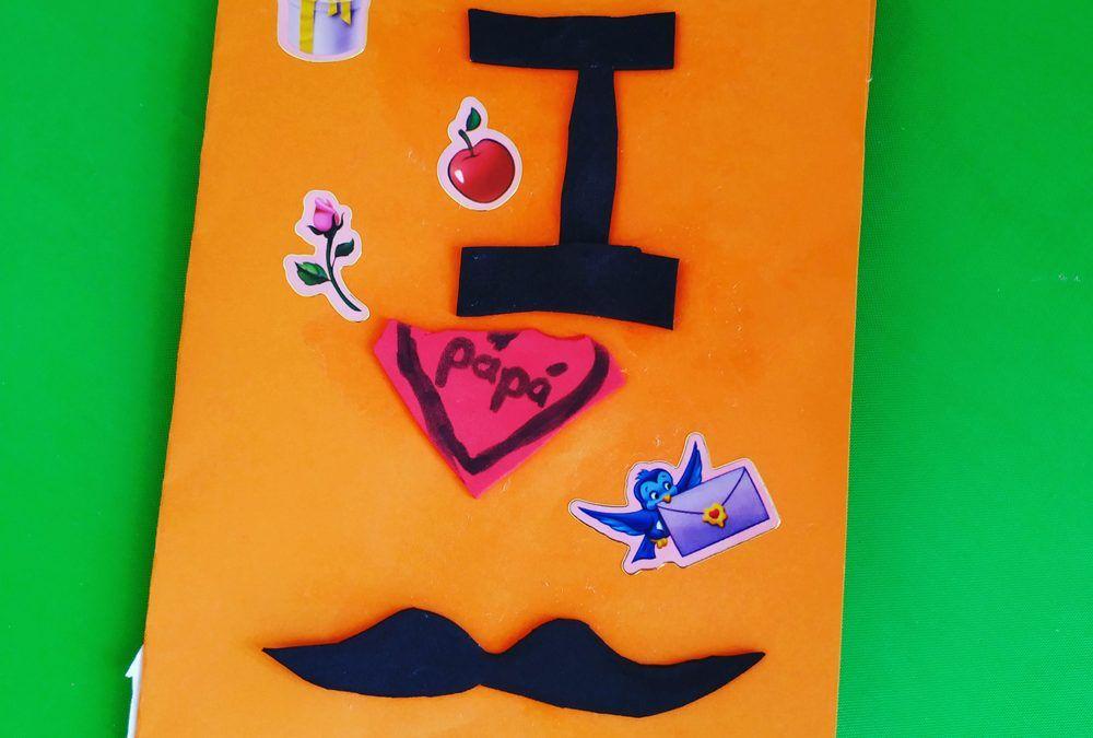 Manualidades sencillas para niños en el Día del Padre