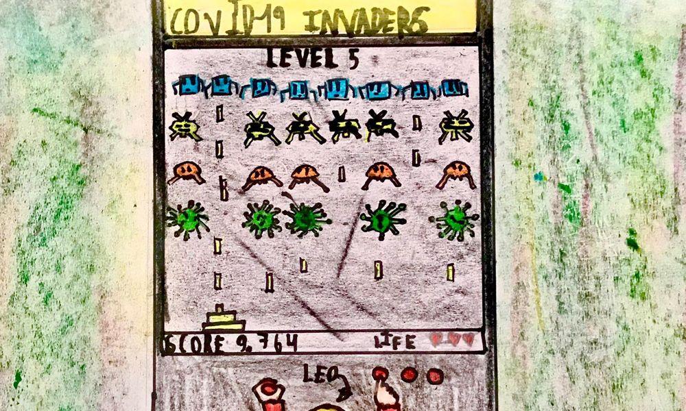 videojuego para combatir el coronavirus