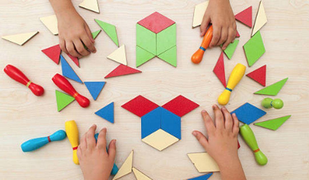 El juego del tangram para estimular la imaginación de los niños