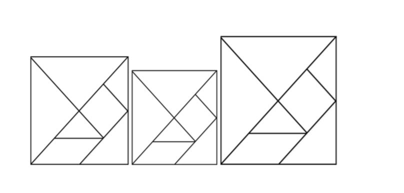 tangram dibujo