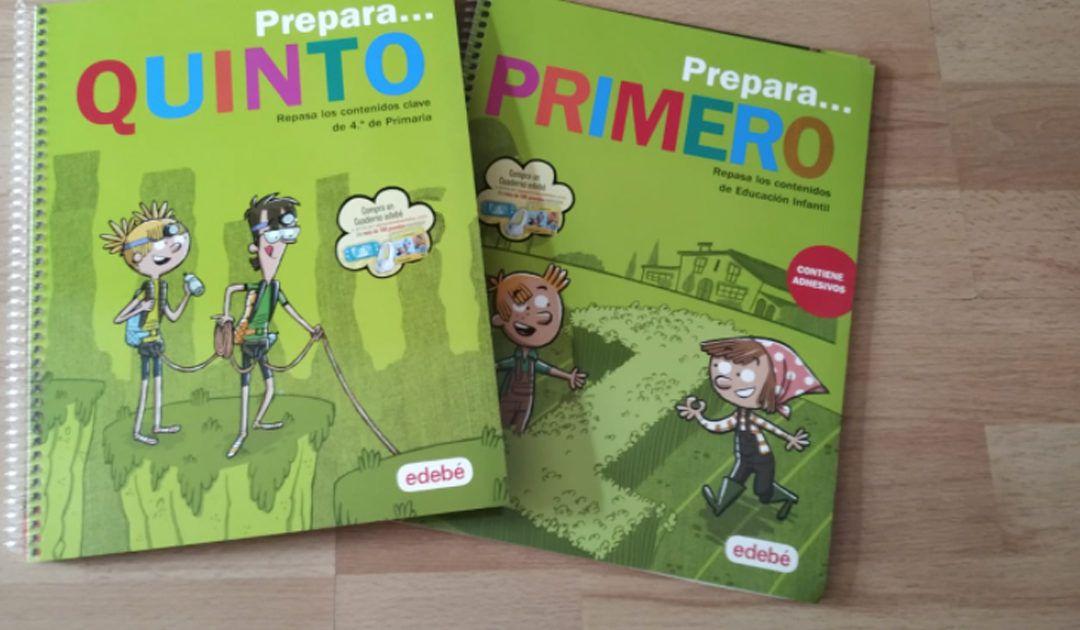 Cuadernos de vacaciones para que los niños aprendan y se diviertan