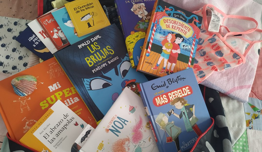 Los mejores libros infantiles para meter en la maleta este verano