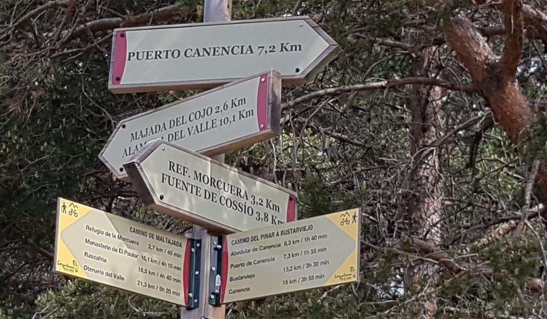 Espectacular ruta para niños del puerto de Canencia a Morcuera