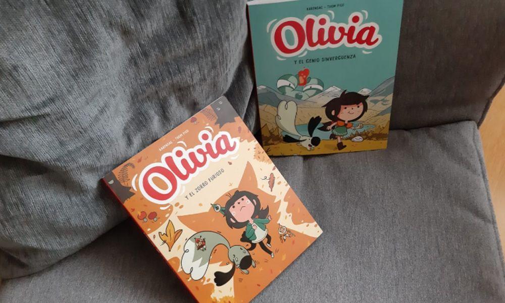 'Olivia', aventura y humor en viñetas para niños