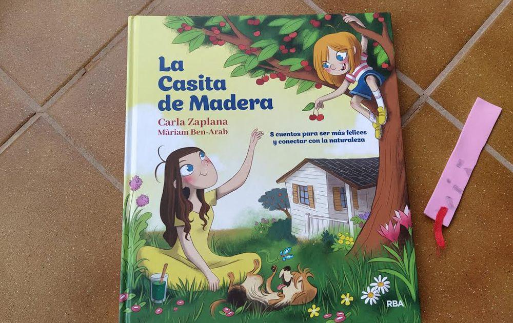 el libro de la casita de madera