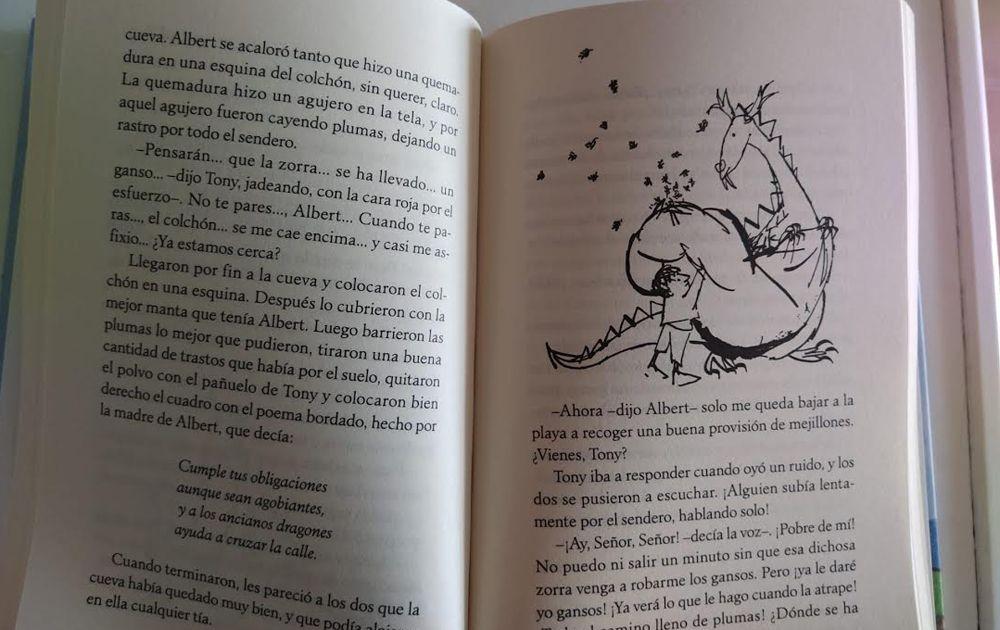 el libro del dragón albert