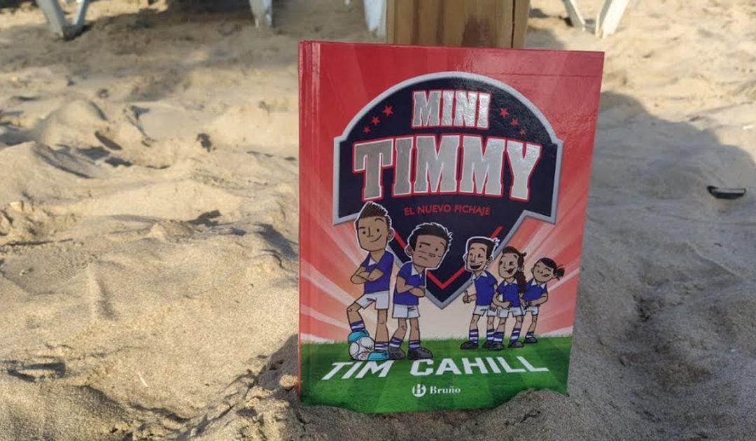 'Mini Timmy, el nuevo fichaje'. Un libro para aprender a trabajar en equipo