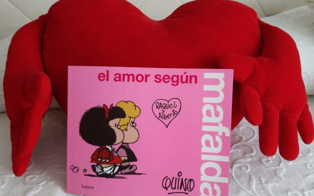 'El amor según Mafalda', manual divertido y básico de afectividad para nuestros hijos
