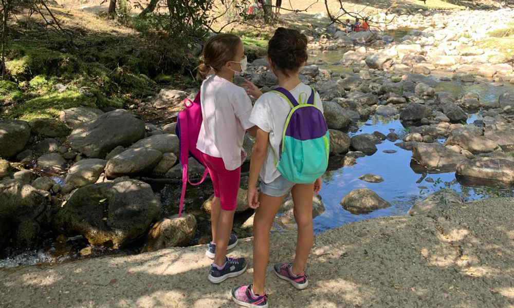 Ruta con niños por Rascafría. Cascadas del Purgatorio