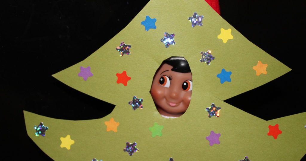 navidad con elf on the shelf