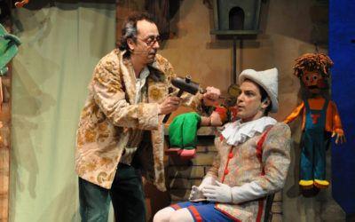 Pinocho. Un cuento y una obra de teatro para que los niños dejen el camino de la mentira