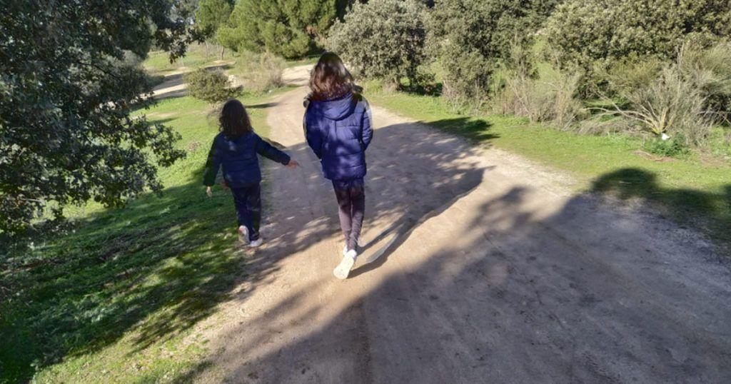 casa de campo de madrid con niños