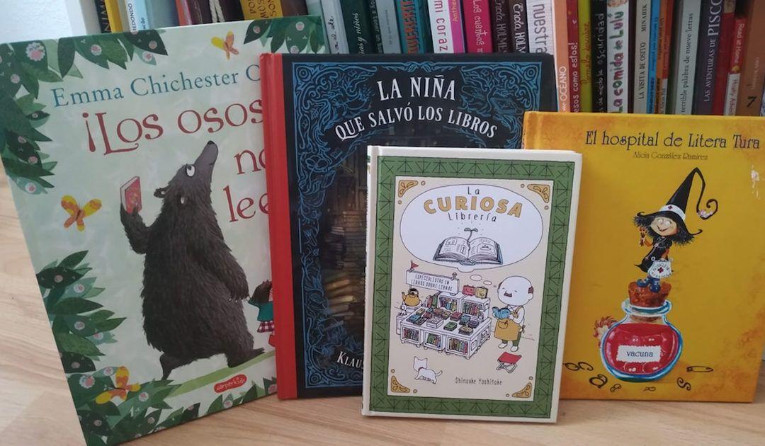 Libros que hablan de libros para los niños según su edad