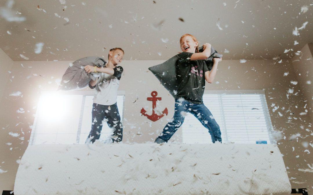 Planes anti aburrimiento para hacer con niños en casa