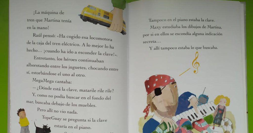 Las apasionantes aventuras de Raúl y Martina para niños aventureros