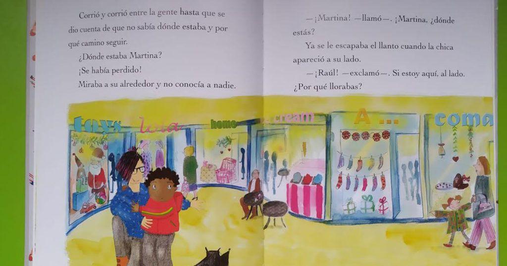 Las apasionantes aventuras de Raúl y Martina