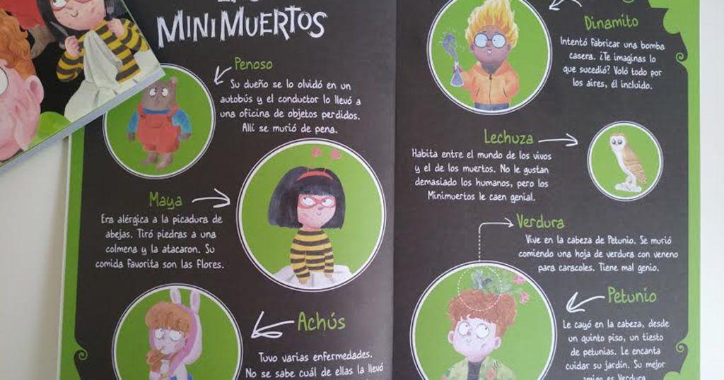 personajes de los minimuertos
