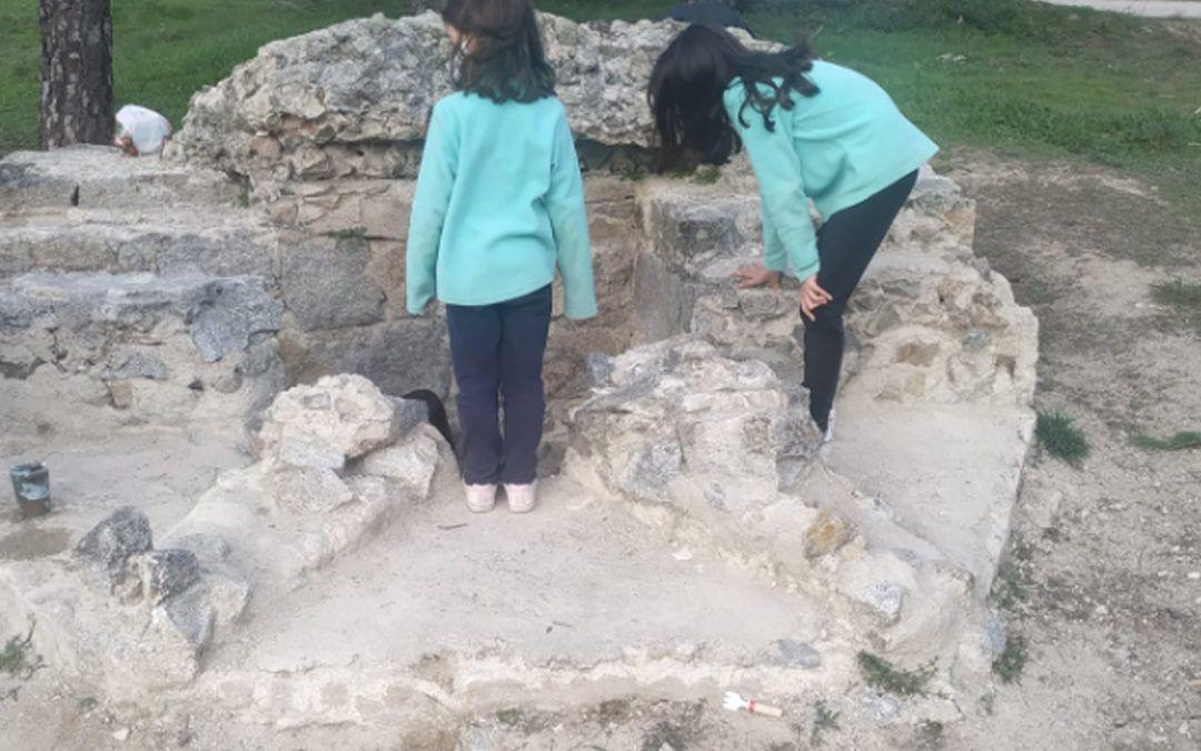 Ruta en el tiempo. Visita a los fortines de la Dehesa de Navalcarbón con niños