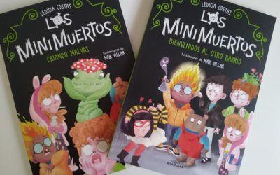'Los Minimuertos', de Ledicia Costas. Un libro infantil para morirse de risa