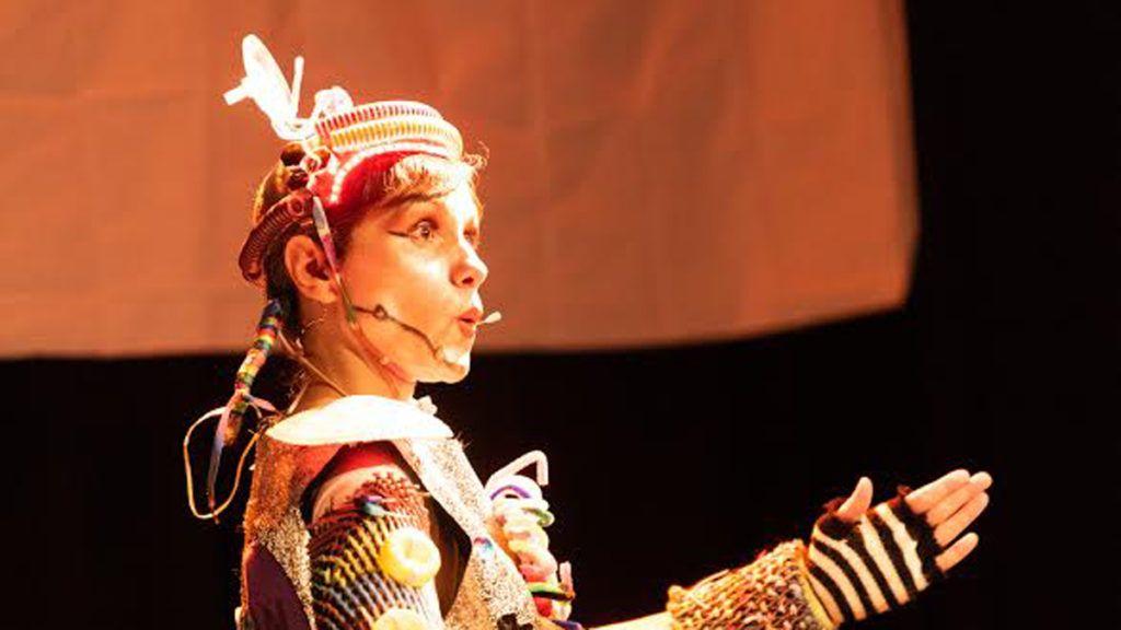 teatro con Robotina y el clan Planetario