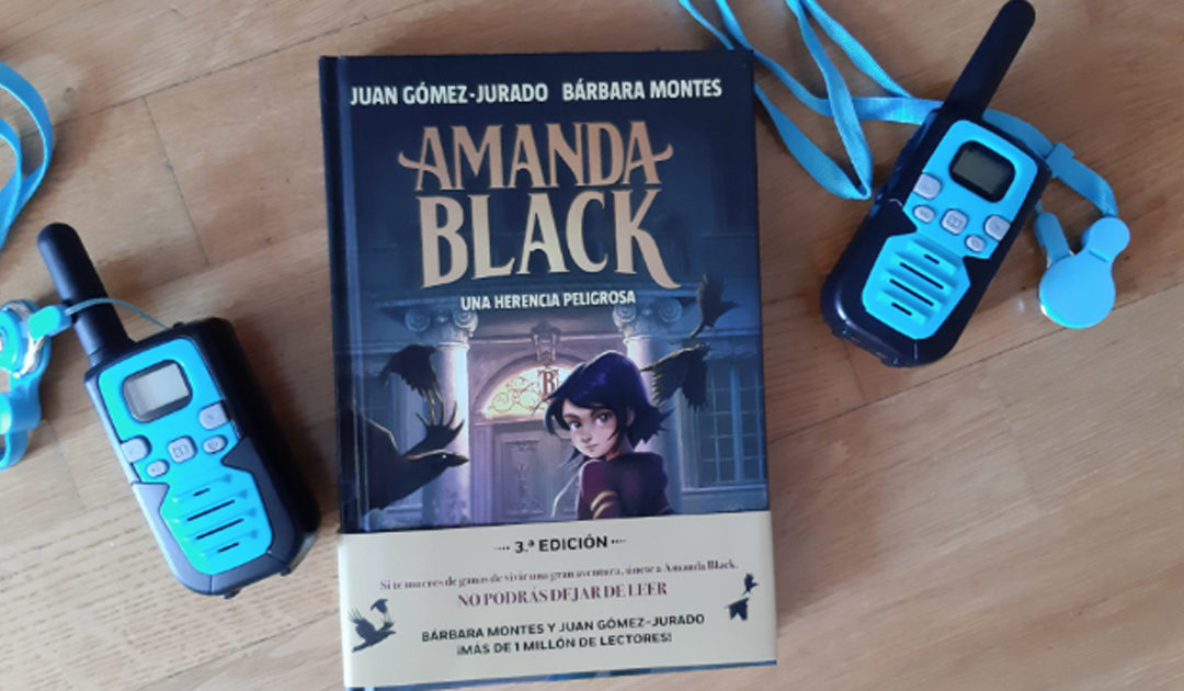 'Amanda Black'. La nueva heroína del thriller infantil