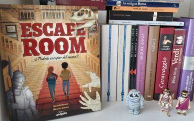 '¿Podrás escapar del museo? Propuesta literaria con la acción de un Escape Room