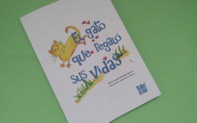 'El gato que regaló su vidas'. Un libro para niños que habla de valores como la generosidad