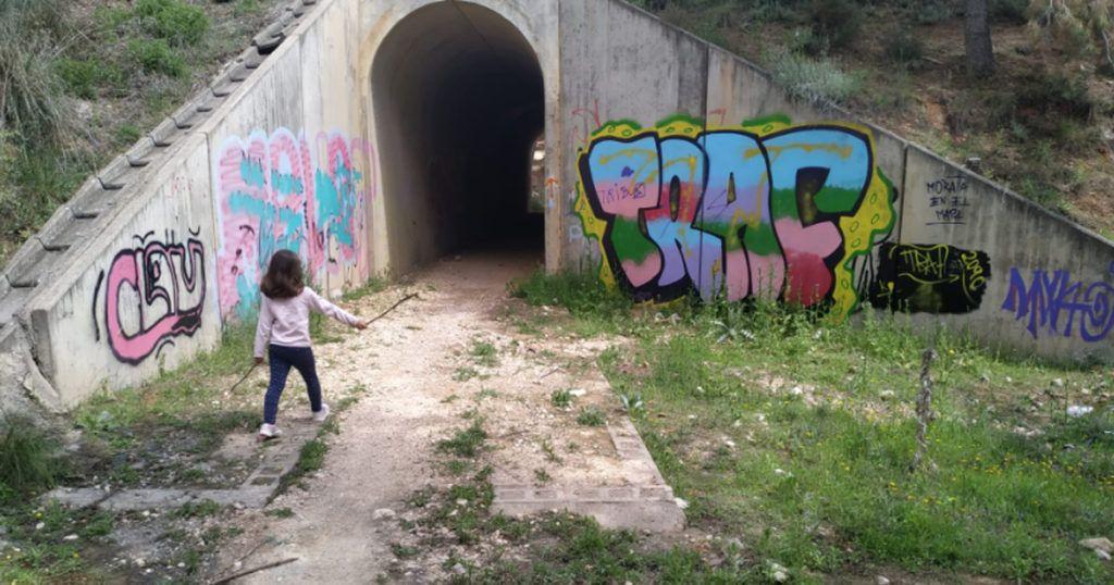 túnel de la senda de morata