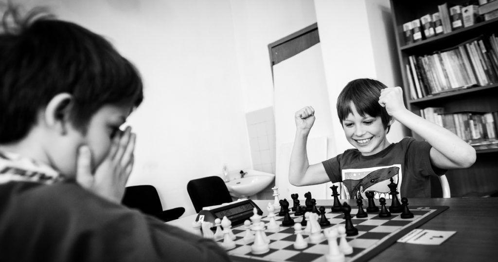 el libro chess book para niños