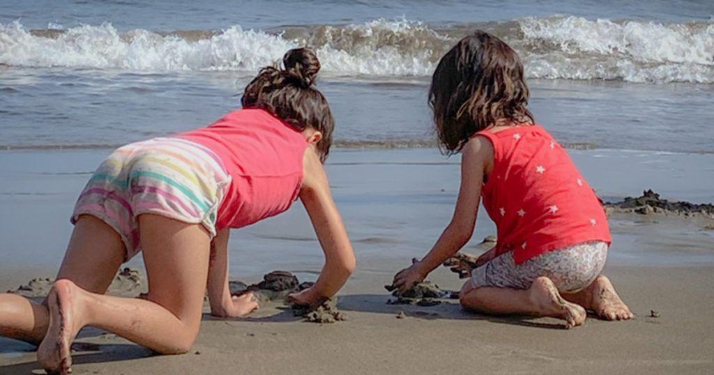playa de canarias para niños