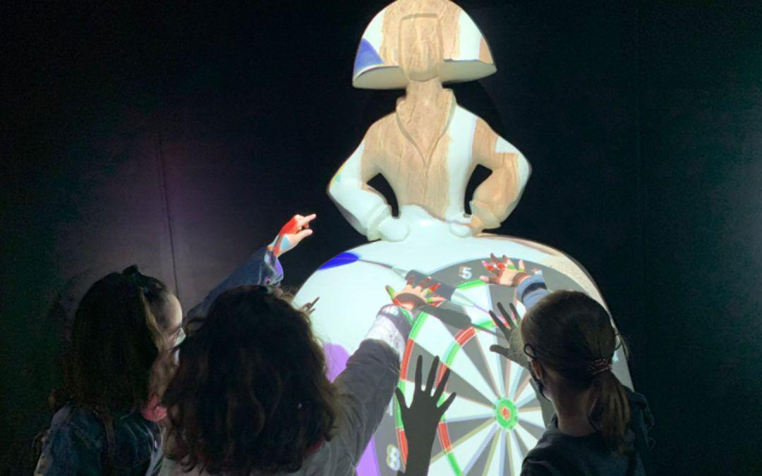 Museo Velázquez Tech con niños. Un plan que triunfa