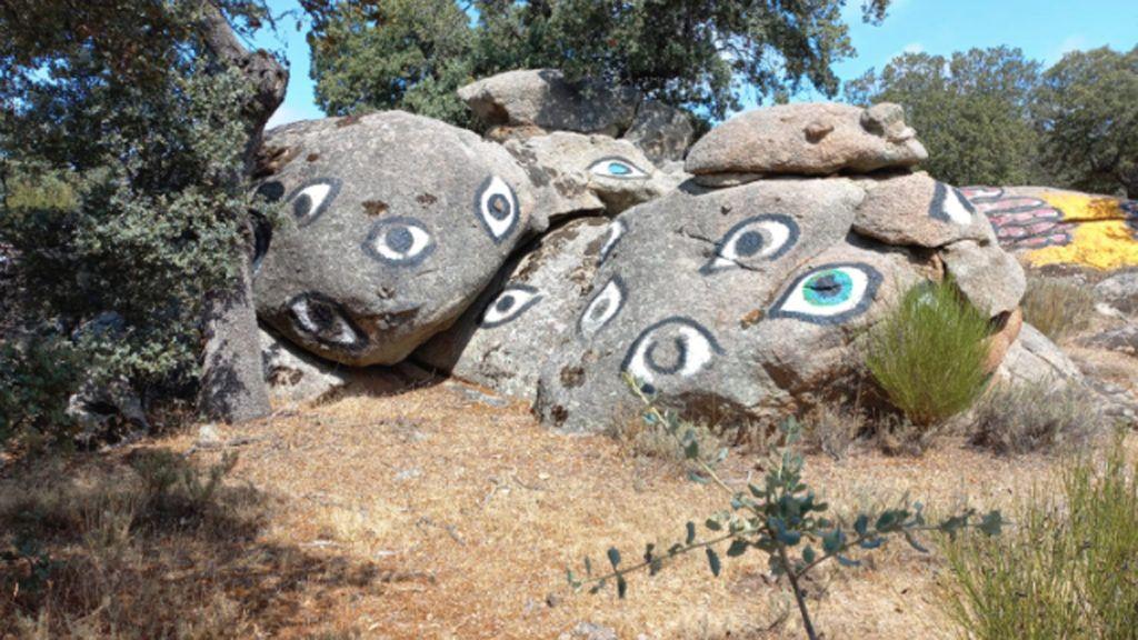 visita al Museo Ibarrola en Garoza