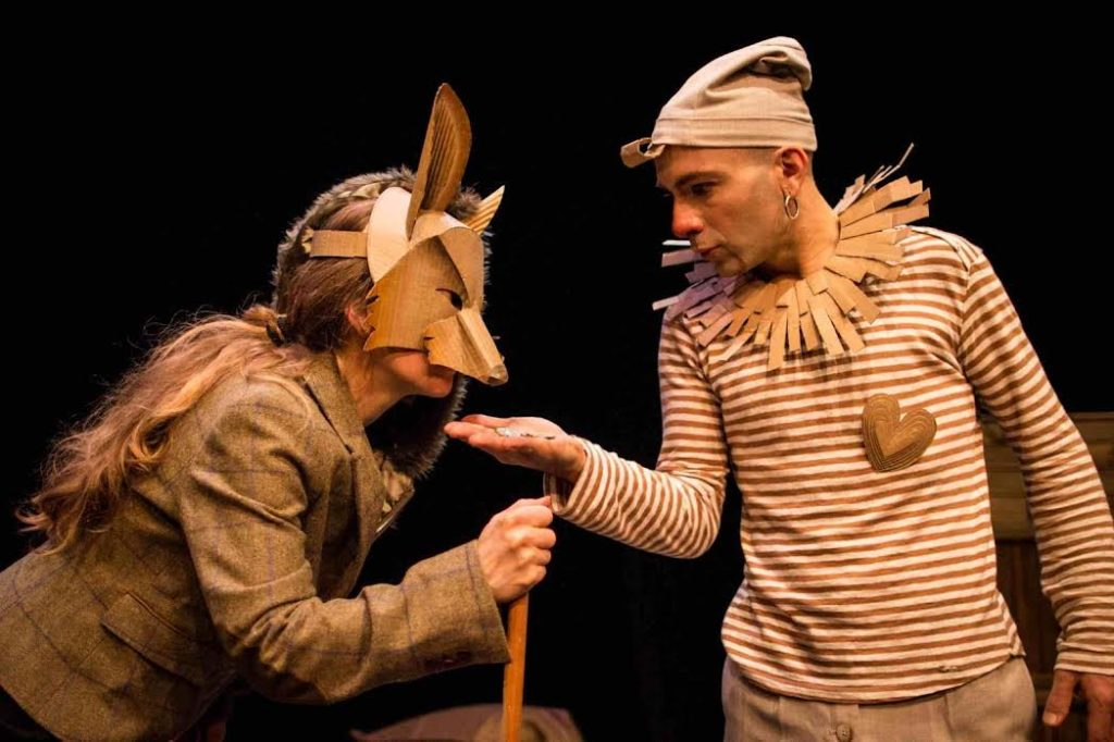Pinocchio obra de teatro