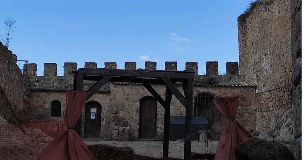 castillo de la muela con niños