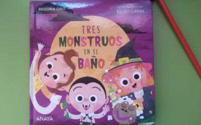 'Tres monstruos en el baño', el cuento de Halloween para los peques de la casa