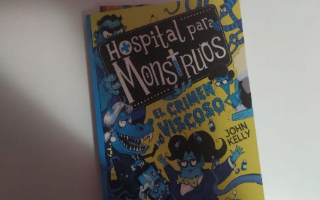 'Hospital para monstruos', los libros de monstruos más divertidos para niños